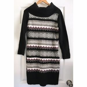 BCBGMaxAzria Cowl Neck Sweater Dress